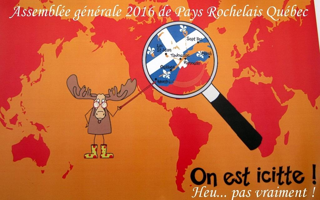 Assemblée générale 2016 de Pays Rochelais Québec