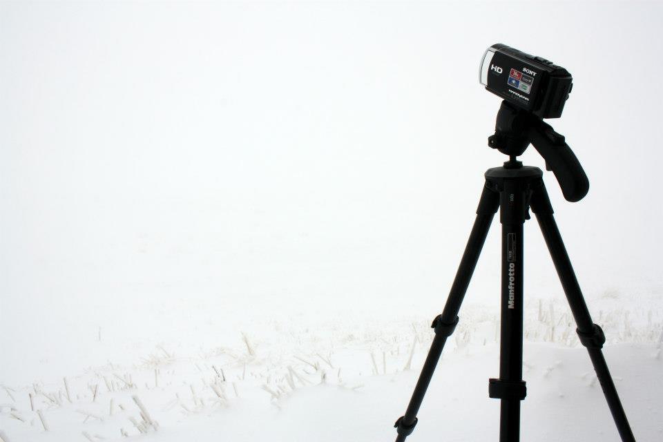 Caméra Sony à Chamrousse