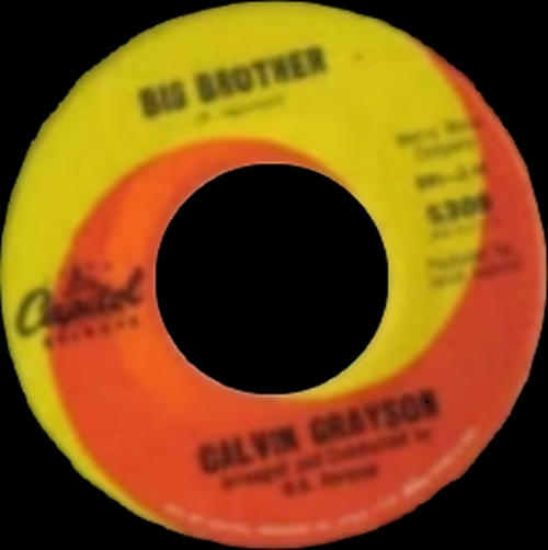 1964 : Calvin Grayson : Single SP Capitol Records 5308 [ US ]