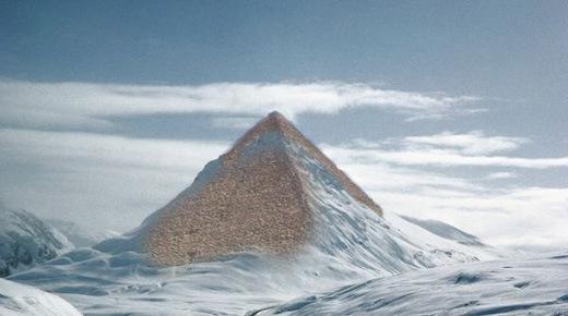 Antarctique: Les glaciers fondent, les pyramides apparaissent