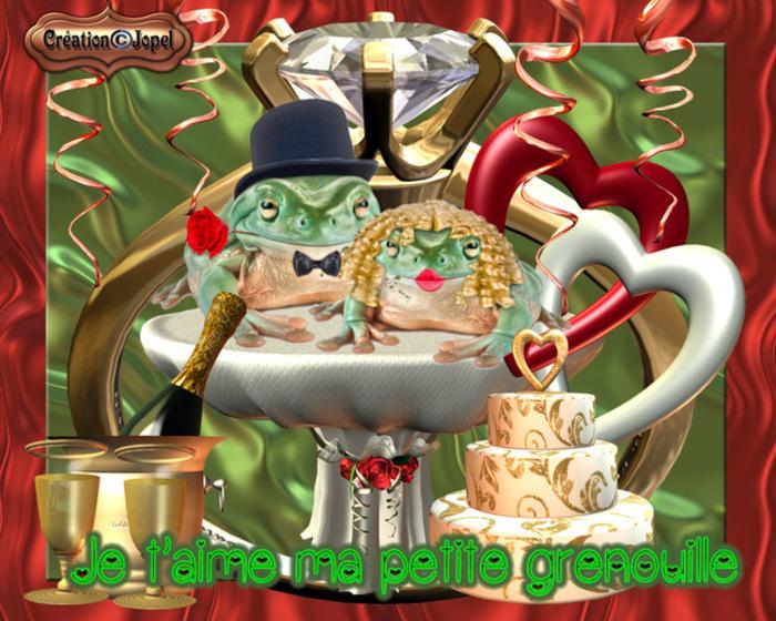 RESULTAT GALERIE du défi N° 4 ( les grenouilles amoureuses )