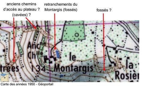 LES REMPARTS DU MONTARGIS (Calvados)