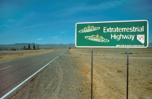 La route des extra-terrestres