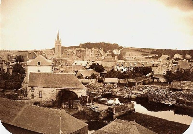 File:Quimper 173 La plus ancienne photo de Quimper datant de 1860.jpg