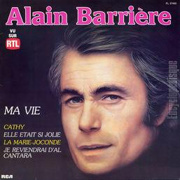Résultats de recherche d'images pour «BARRIÈRE, Alain - Ma Vie. Romantiques»