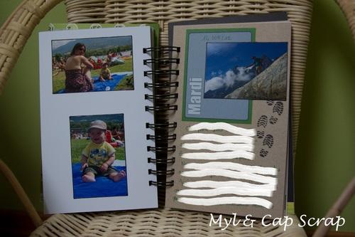 Mylène : Roadbook - Aventure dans les Ecrins