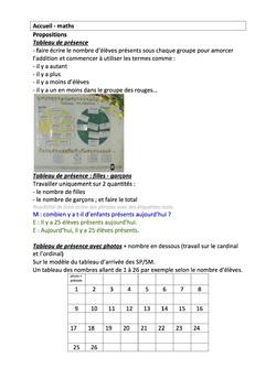 Rituel - Maths - SG
