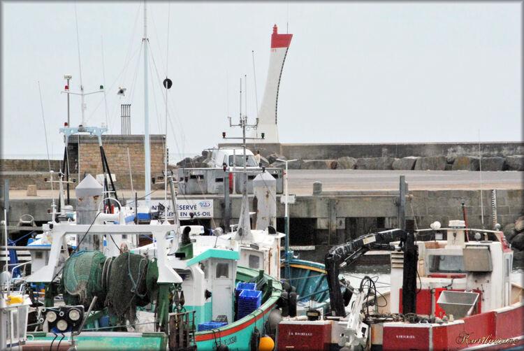 Photo du port de pêche de La Turballe