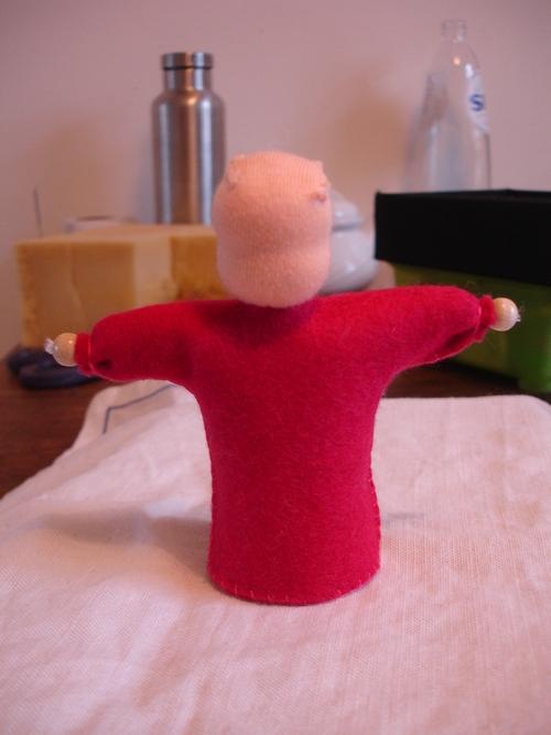 10 mars '15 - Atelier poupées: des doudous et personnages fleur