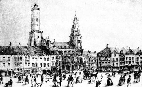 Le retour de la République, célébré à Calais en 1848