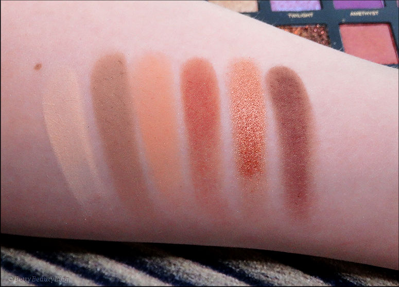 Desert dusk palette by Huda Beauty