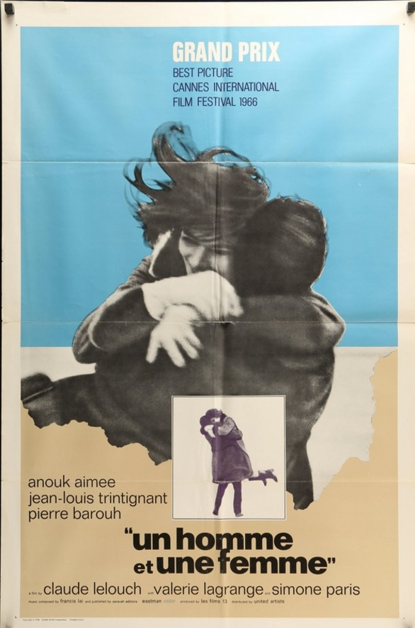 A MAN AND A WOMAN BOX OFFICE USA 1966