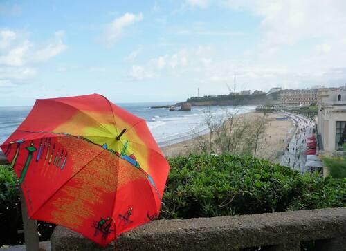 Parapluies dans le sud-ouest