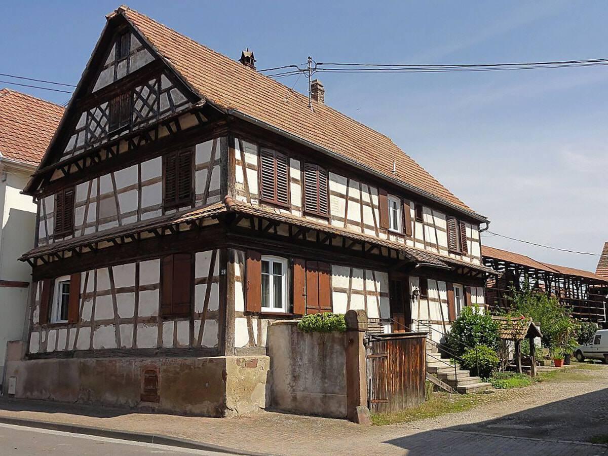 L'Alsace rurale, une véritable terre promise de l'agriculture.