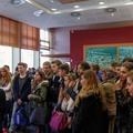 Mars 2014 : accueil de collégiens à la Mairie