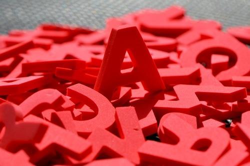 L'alphabet de Hugo...