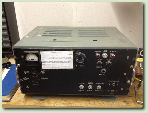 Emetteur AME 1F-20 type 5720 Par Anthony F4JU