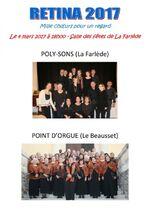 4.03.17 La Farlède : gospels& spirituals, de chants du monde et contemporains.