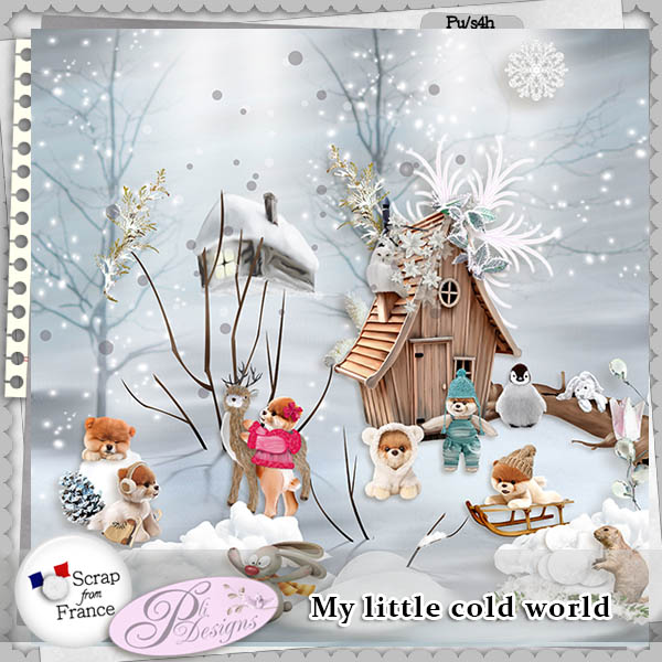 My little cold world by Pli Designs