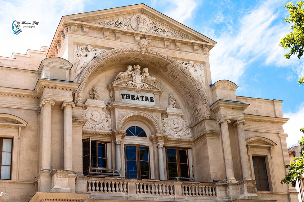 Façade du Théâtre d'Avignon