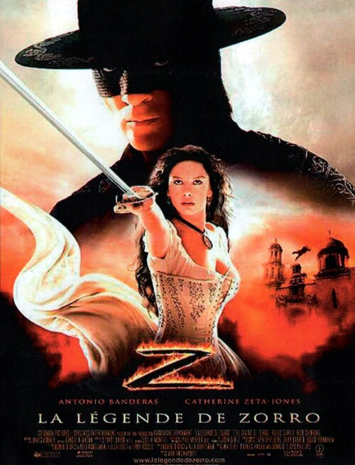 LA LEGENDE DE ZORRO BOX OFFICE FRANCE 2005