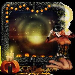 Calendrier Halloween citrouilles code inclu