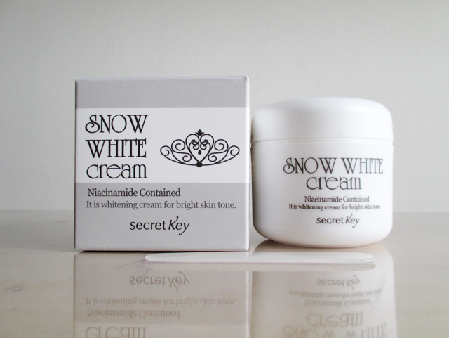 Snow White Cream - Secret Key : Le secret d'une jolie peau ?
