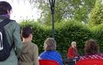 C'était au Kiosque, parc des promenades à Alençon...