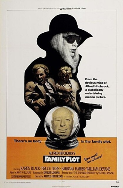 family plot BOX OFFICE USA 1976