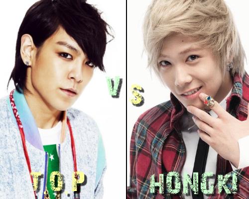 T.O.P (Big Bang) vs Hong Ki (F.T Island) - Round 11