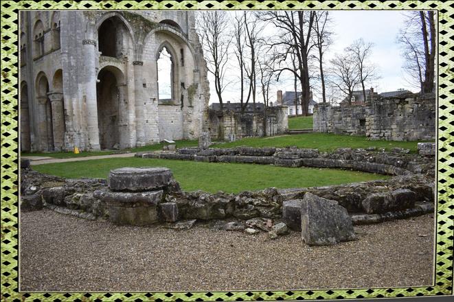 76480 Jumiège  Abbaye