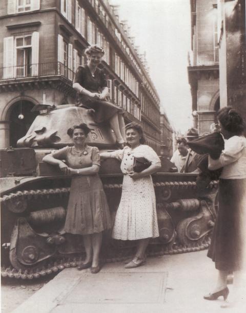la liberation en 1944