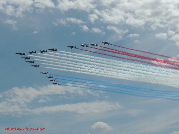 Le meeting de Dijon vu par Nicole Prévost, passionnée d'aviation