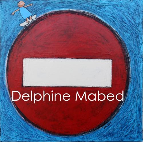 Panneaux routiers.Acrylique sur toile. Juillet 2012.