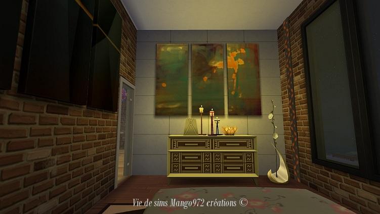 Sims 4:le 121 maison Hakim