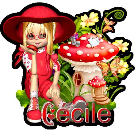Signature Cécile