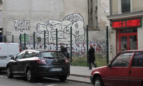 Zoo Project singe street-art démolition recroquev-copie-1