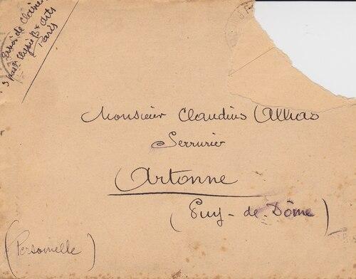 Lettres à Claudius