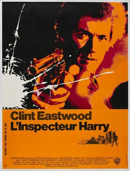 L'INSPECTEUR HARRY - BOX OFFICE CLINT EASTWOOD 1972