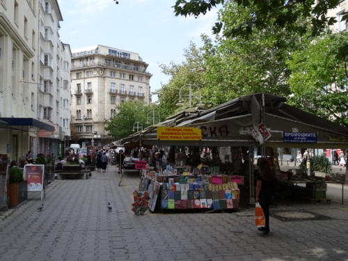 Sofia: le quartier des bouquinistes (photos)