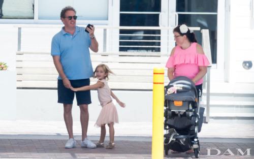 Chris et Leonore de Suède à Miami