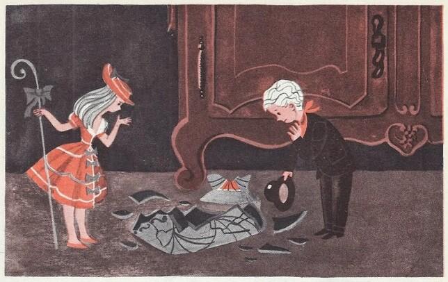 La bergère et le ramoneur (Andersen)