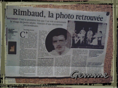 Rimbaud, la photo retrouvée