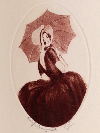 04 - Parapluie, ombrelles et dessin