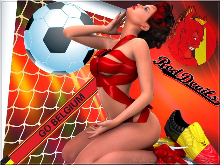 Diables rouge -Belgique