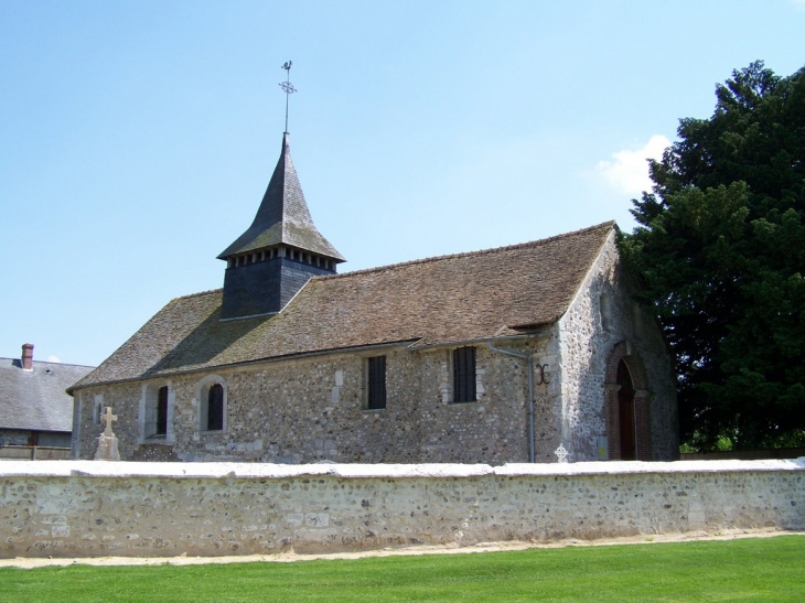 église Saint-Martin - Crasville