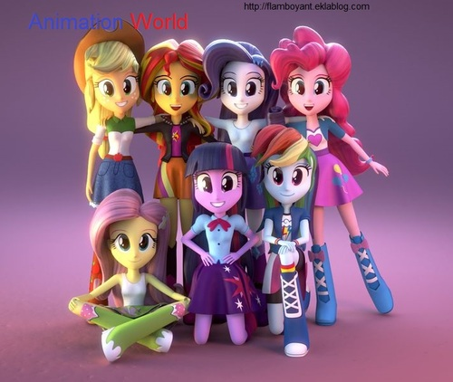 Equestria Girls en 3D