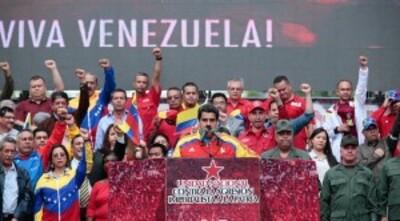 Venezuela : Nicolas Maduro débute son nouveau mandat présidentiel avec le soutien du PC du Venezuela (IC.fr- 10/01/19)