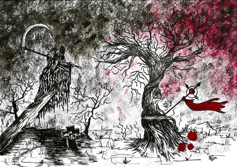 * L'ENCRIER * « Déprisme » - Illustration