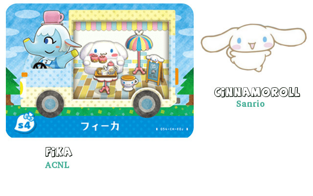 Les 6 cartes Sanrio (sortie en France le 25/11/2016)